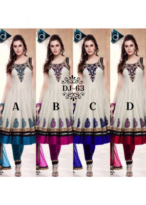 Bollywood Replica - Wedding Wear Embroidered Anarkali Suit - DJ-63