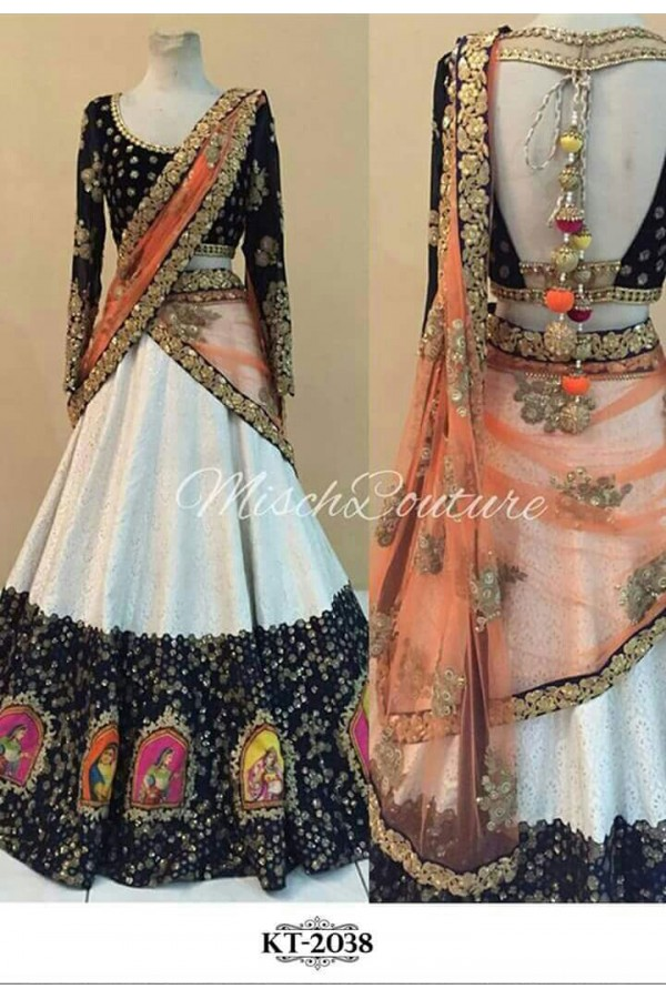 Bollywood Replica - Navratri Special Multi-Coloured Lehenga Choli - KT-2038