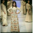 Bollywood Replica - Party Wear Cream Heavy Embroidered Salwar Suit  - Kabali