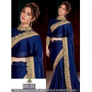 Bollywood Replica - Tamanna Bhatia In Designer Blue Georgette Saree - SN-20
