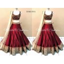 Bollywood Replica - Bridal Wear  Red Lehenga Choli   - 3078