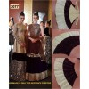 Bollywood Replica - Wedding Wear Golden & Maroon Velvet   Lehenga Choli - 3077