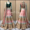 Bollywood Replica -  Wedding Wear Pink Silk Lehenga Choli  - PL01