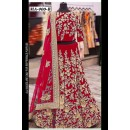 Bollywood Replica - Wedding Wear Red Velvet Lehenga Choli  - MA-900-B