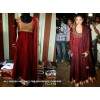 Bollywood Replica - Aditi Rao Hydari Beautiful Maroon Color Anarkali Suit  - FC-113
