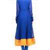 Bollywood Replica - Karishma Kapoor Stunning in Blue and Golden Anarkali suit  - S110