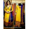 Bollywood Replica - Zarine Khan Yellow Color  Anarkali Suit - FC-101