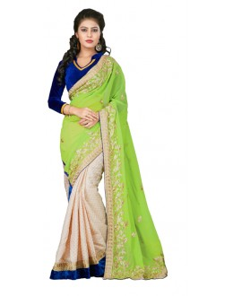 Bollywood Replica - Designer Multicolour Saree - TM-126