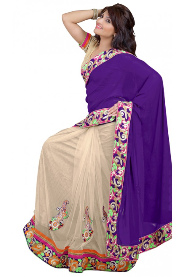 Bollywood Replica - Designer Multicolour Saree - TM-134