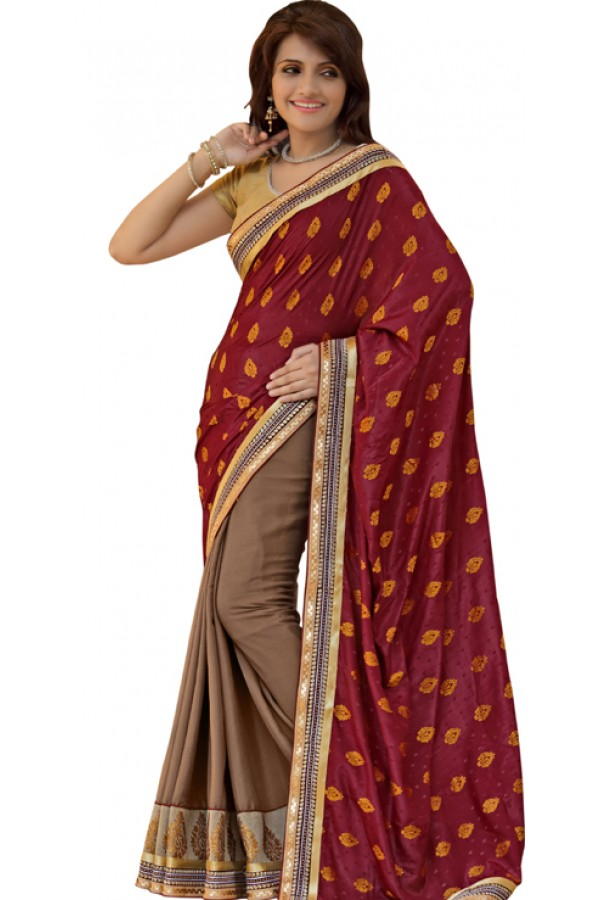 Bollywood Replica - Designer Multicolour Saree - TM-144