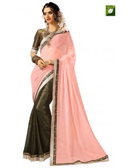 Bollywood Replica - Designer Pink Saree - TM-172