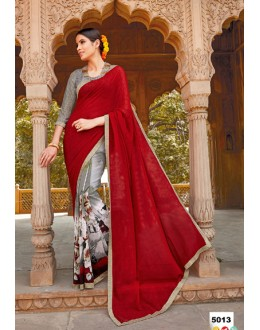 Ethnic Wear Major Georgette Saree  - Anokhi5013