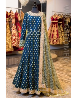 Bollywood Inspired - Party Wear Banglori Silk  Anarkali Suit - Antara002
