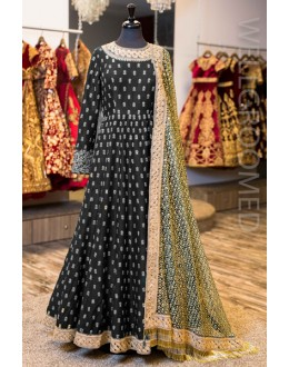 Bollywood Inspired - Ethnic Wear Banglori Silk  Anarkali Suit - Antara004