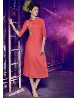 Party Wear Readymade Gajri Kurti - BarkhaBD-08