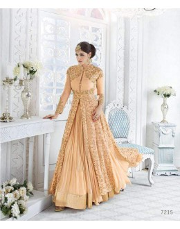Festival Wear Orange Georgette Lehenga Suit - Glossy7215