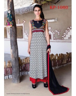 Party Wear Readymade Multi-Colour Kurti - JumariKP1060