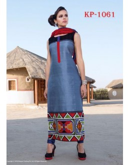 Ethnic Wear Readymade Multi-Colour Kurti - JumariKP1061