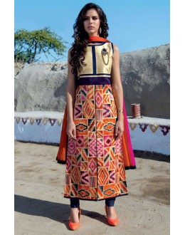 Festival Wear Readymade Multi-Colour Kurti - Jumari20