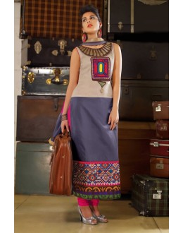 Party Wear Readymade Multi-Colour Kurti - Jumari21