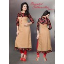 Readymade Cotton Cream Kurti - LaskaraK220