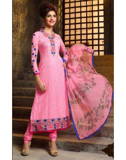 Wedding Wear Pink Salwar Suit  - Sahiba4103
