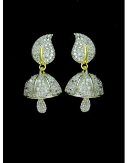 Designer Indian CZ Jhumka - 87553