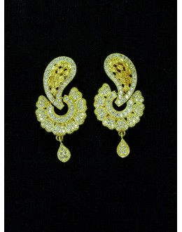 Designer Indian CZ Earring - 87567