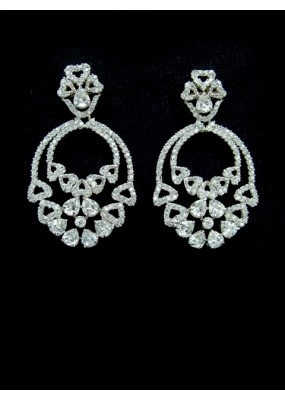 Designer Indian CZ Earring - 87839