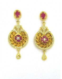 Designer Indian CZ Earring - 89140