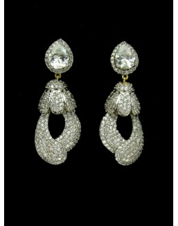 Designer Indian CZ Jhumka - 89432
