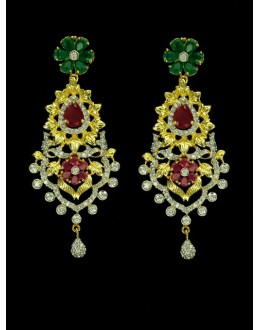 Designer Indian CZ Earing - 89549