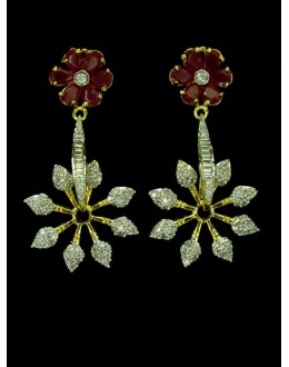 Designer Indian CZ Earing - 89558