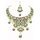 Designer Stone Necklace Set - 67679