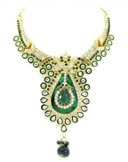 Designer Stone Necklace Set - 68475