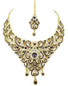 Designer Stone Necklace Set - 69161