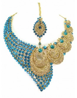 Designer Stone Necklace Set - 69177