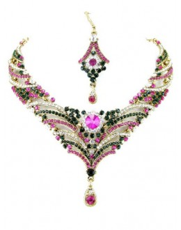 Designer Stone Necklace Set - 69196