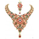 Designer Stone Necklace Set - 70923