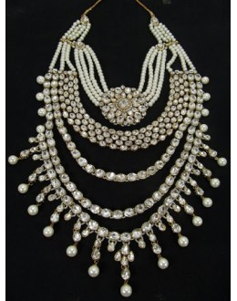 Designer Stone Necklace Set - 79162