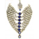 Designer Stone Necklace Set - 80075