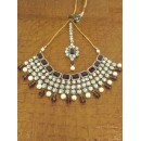 Designer Stone Necklace Set - 80738