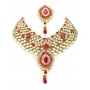 Designer Stone Necklace Set - 81923