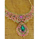 Designer Stone Necklace Set - 82189