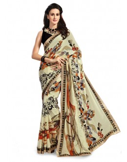 Georgette Multi-Colour Designer Saree - 5029