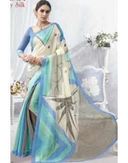 Casual Wear Multicolour Luxury Silk Saree  - 1618