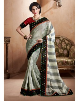 Multi-Colour Bhagalpuri Khadi Silk Saree  - 3241