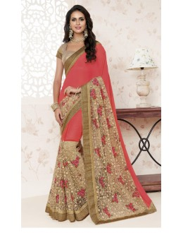 Festival Wear Multi-Colour Saree  - BELA-12249