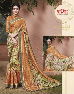 Ethnic Wear Salem Silk Saree - VIPUL-30323