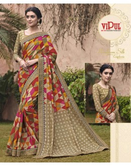 Casual Wear Salem Silk Saree - VIPUL-30328